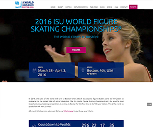 2016 World Figure Skating Championships web home page